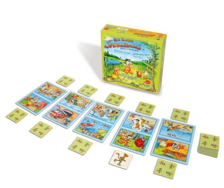 A Kis Borz Meséje- Der kleine Sprechdachs társasjáték