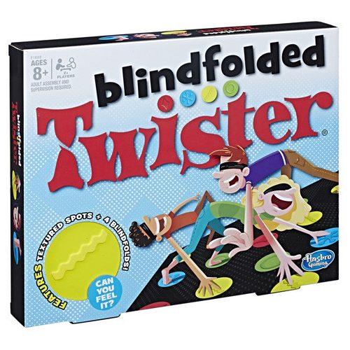 Twister bekötött szemmel ügyességi társasjáték – Hasbro