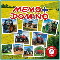 Traktorok Memo – Domino társasjáték – Piatnik