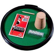 Kockapóker tálca normál dobókockákkal – Piatnik