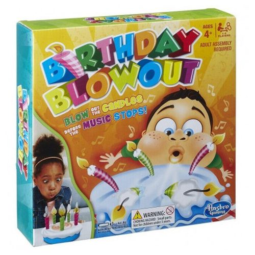 Birthday Blowout társasjáték – Hasbro