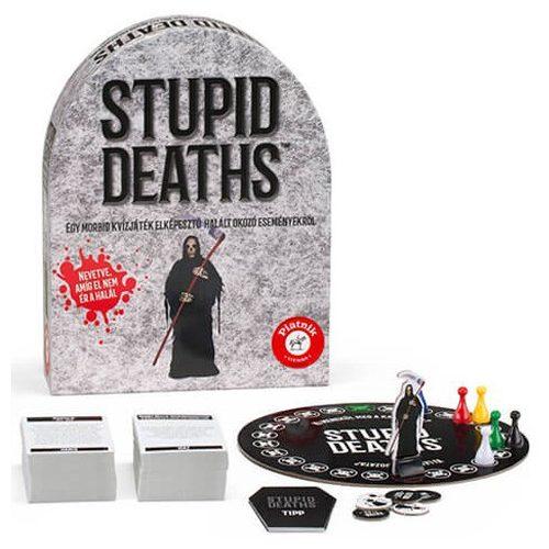Stupid Deaths társasjáték – Piatnik