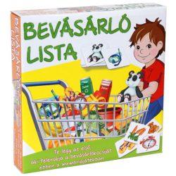 Bevásárló lista társasjáték – D-Toys