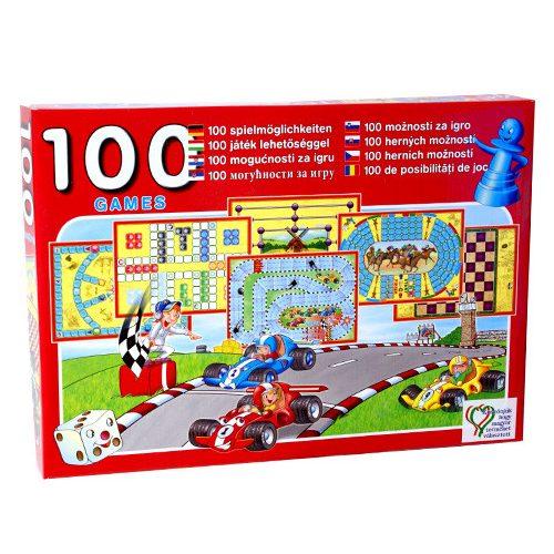 Játékgyűjtemény 100 játéklehetőséggel