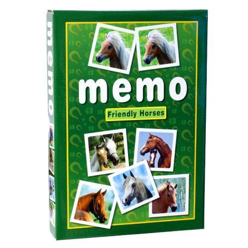 Memóriajáték lovakkal