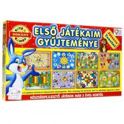 Első játékaim gyűjteménye készségfejlesztő társasjátékok – D-Toys