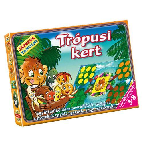 Trópusi kert készségfejlesztő társasjáték – D-Toys