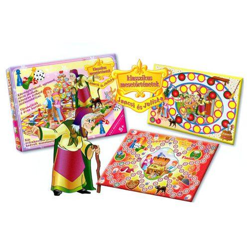 Jancsi és Juliska Két mesés társasjáték – D-Toys