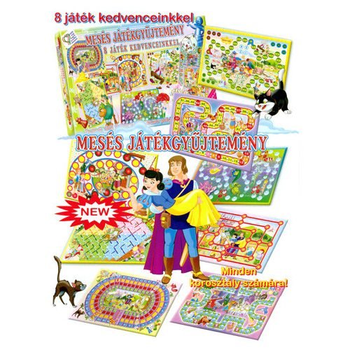 Mesés Játékgyűjtemény 8 játék kedvenceinkkel – D-Toys