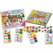 Vásárolni tanulok 4 nyelvű készségfejlesztő társasjáték – D-Toys