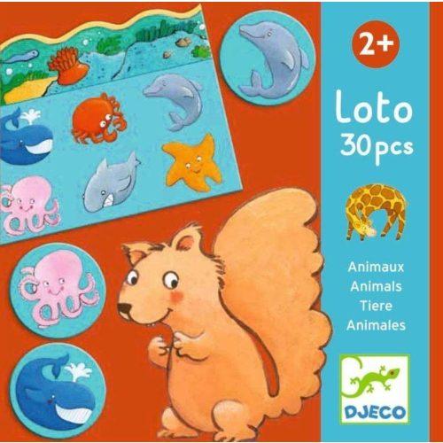 Állatok - Társasjáték - Animals lotto