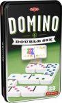 Domino Dupla 6-os szett fém dobozban