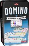 Domino Dupla 9-es szett fém dobozban