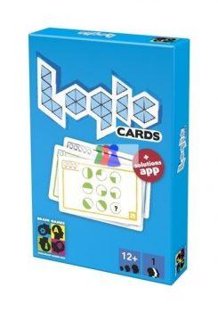 Logic Cards, kék - Brain Games logikai játék