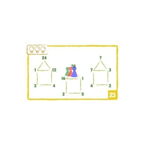 Logic Cards, sárga - Brain Games