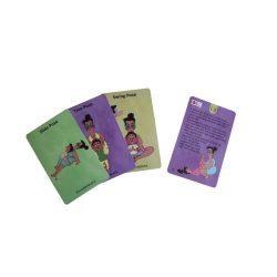 Doda jóga kártya Szülő és gyermek The Purple Cow