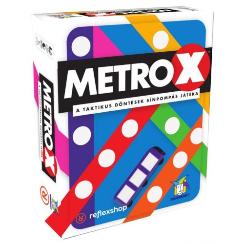 Metro X parti társasjáték