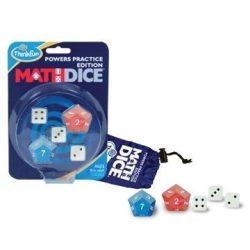 Math Dice Powers - hatványok