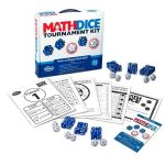 Math Dice Tournament kit társasjáték