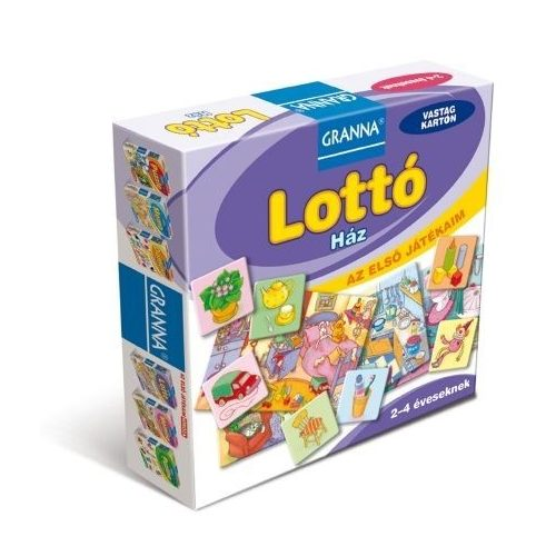 Az első játékaim Lottó - Ház - Granna