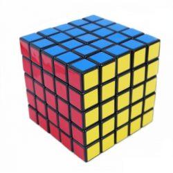 Rubik 5x5x5 kocka, kék dobozos