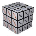 Rubik 3x3 szövegkocka, színes