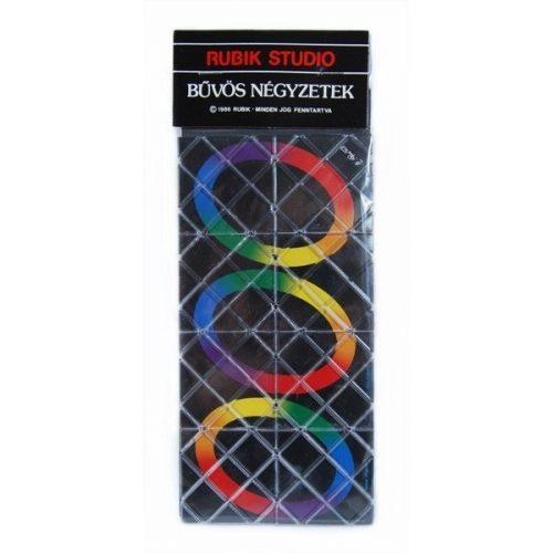 Rubik karikavarázs, 8 elemű logikai játék