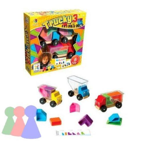 Trükkös teher - Trucky 3 - Smart Games