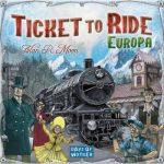 Ticket to Ride Európa Angol nyelvű