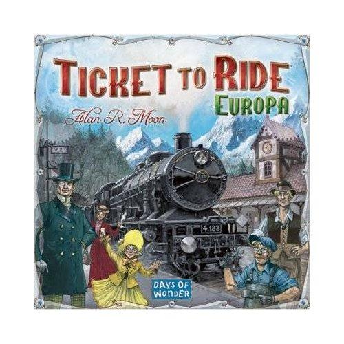 Ticket to Ride Európa Angol nyelvű - Társasjátékdiszkont társasjáték ... 62a7acd226