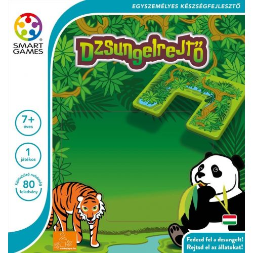 Dzsungelrejtő Jungle - Hide & Seek - Smart Games