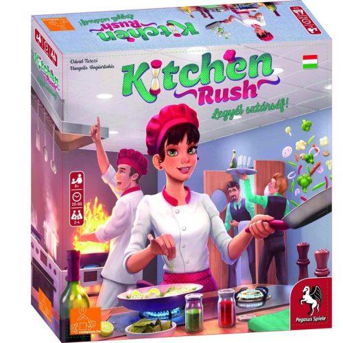 Kitchen Rush legyél sztárséf társasjáték