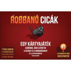 Exploding Kittens kártyajáték - Magyar -