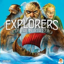 Explorers of the North Sea gémer stratégiai társasjáték