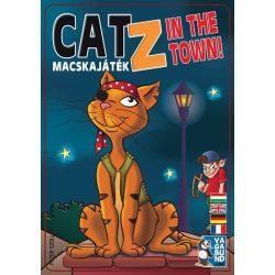 CatZ in the town! -Macskajáték stratégiai társasjáték