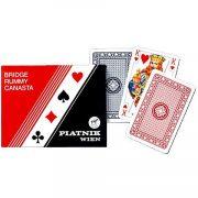 Standard römikártya 2x55 lapos Francia kártya