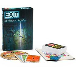 EXIT - Az elhagyatott kunyhó szabaduló szoba társasjáték