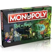 Rick és Morty Monopoly társasjáték - Hasbro