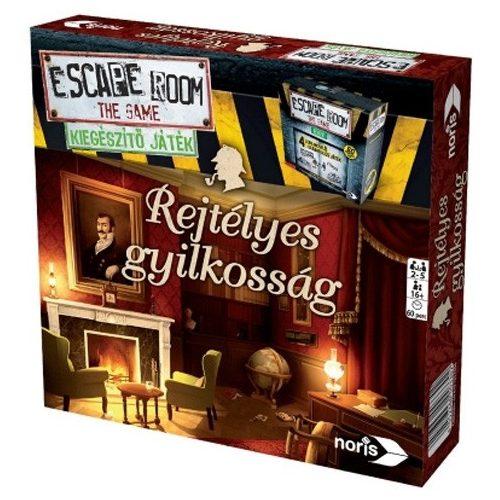 Rejtélyes gyilkosság - Escape Room kiegészítő játék
