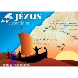 Jézus nyomában - térképes, gyűjtögetős kvíz társasjáték