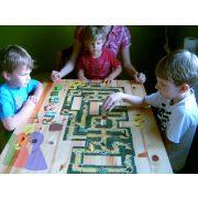 Úton útfélen - családi, útvonalépítős, gyűjtögetős társasjáték