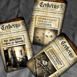 Cerberus (Crime Writers kiegészítő) társasjáték