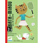 Macska nyávogás - Logikai kártyajáték - Bata - Miaou - Djeco