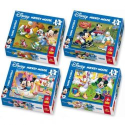 Mickey egér 54 db-os Mini puzzle