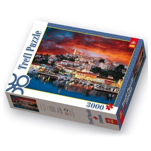 Vrsar Istria Horvátország 3000 db-os puzzle