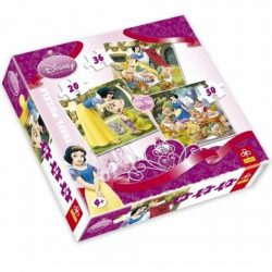 Hófehérke 3/1 három az egyben 20-30-50 db-os puzzle