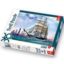 Vitorlás Chicago-i partoknál 500 db-os puzzle -Trefl puzzle