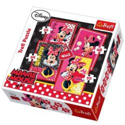 Minnie a gyönyörû 4 az 1-ben puzzle