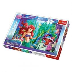 Ariel, a kis hableány: Bújócska 100db-os puzzle