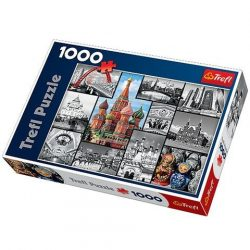 Moszkva kollázs 1000 db-os puzzle